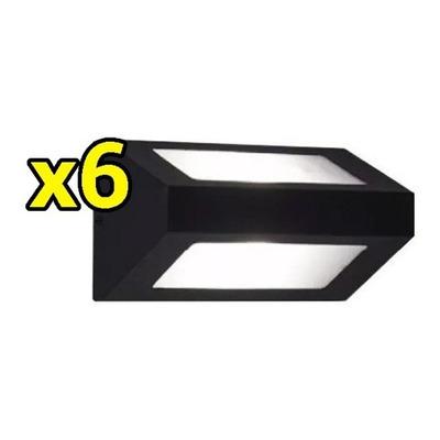 Pack X 6 Difusor Bidireccional Apto Led E27 Exterior Ap101