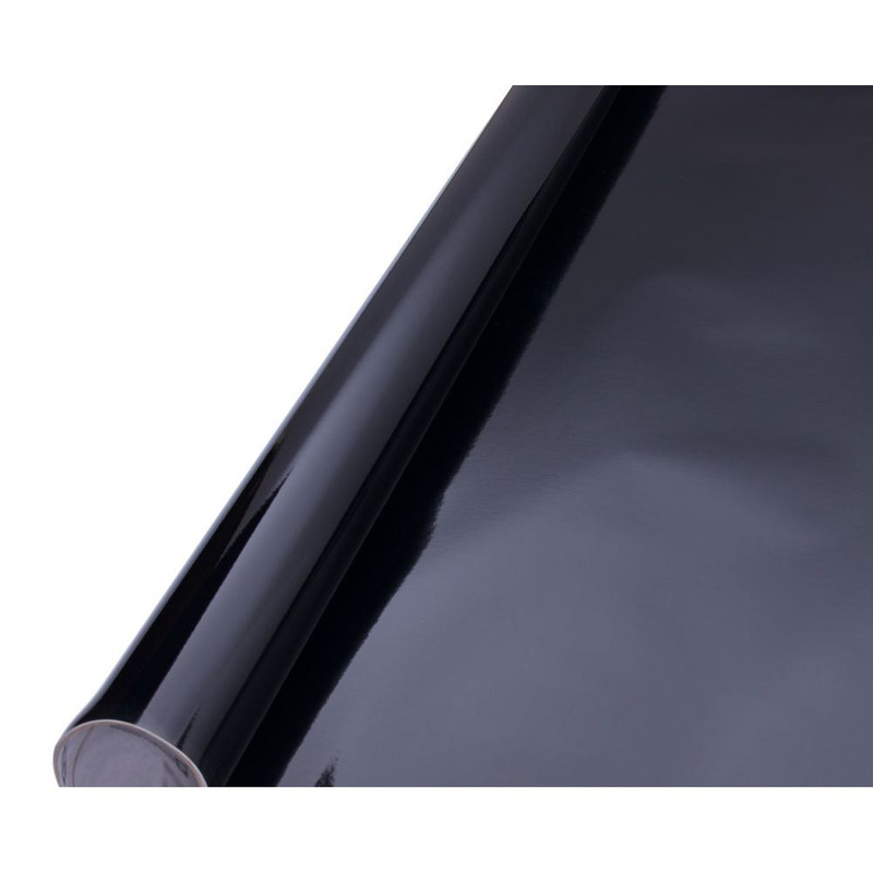 Vinil adesivo protack preto larg. 1,0 m