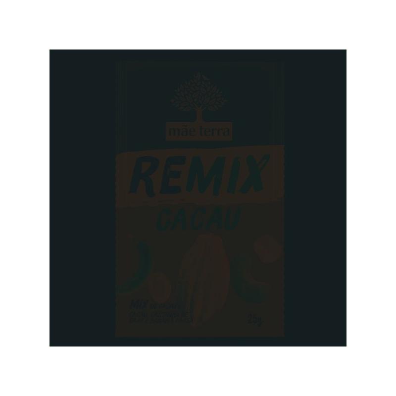 REMIX Cacau (Mix de Frutas+Cacau+Caju+Banana) 25g Mae Terra