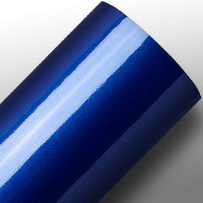 Adesivo para envelopamento automotivo ultra deep blue larg. 1,38 m
