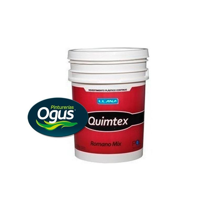 Revestimiento Plastico Colores Romano Mix Quimtex 27 Kg Ogus