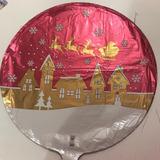 globo navidad satin 45 cm desinflado apto helio