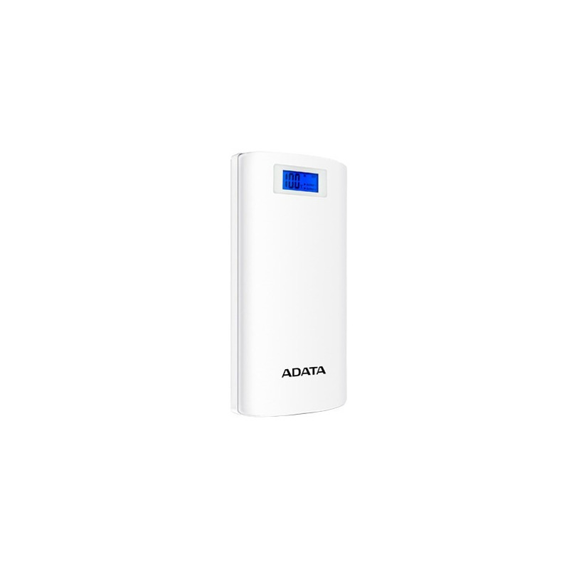 Power Bank ADATA P20000D 20000MAH 2xUSB Blanco