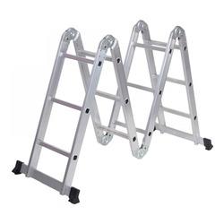 Escalera Aluminio Multiproposito 12 E...