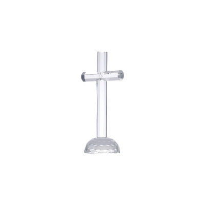 Crucifixo De Vidro Óptico 19Cm - Rojemac 3103400