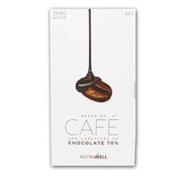 Drageados de Cafe com Chocolate 70% Cacau - 50g - Nutrawell