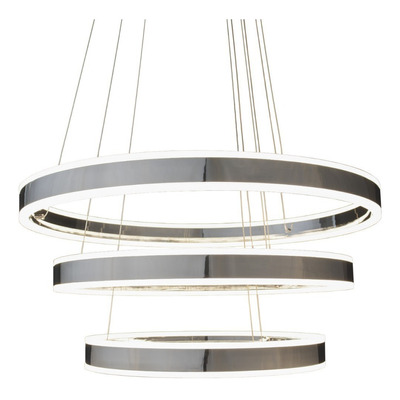 Colgante Led Triple Aro Moderno 108w Diseño Exclusivo Mks
