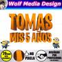 Mi Villano Favorito Minion Logo Personalizado Souvenir Candy | WOLF MEDIA DESIGN