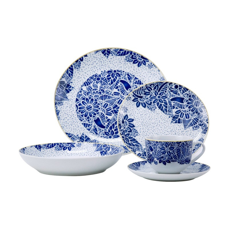 Vajilla de Porcelana 20 pz Siberut 9580121