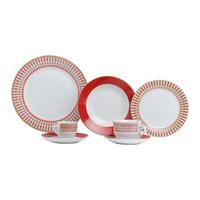 Jogo de Jantar em Porcelana 42 Peças Colorado - Lyor 4108002