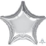 globo estrella 45cm desinflado apto helio/aire