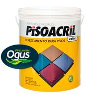 Pisoacril Revest. Acrilico Para Pisos 4 Lt Ogus