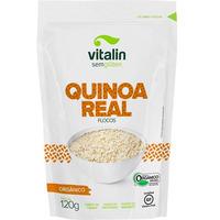 Quinoa Real em Flocos Organica - 120g Vitalin