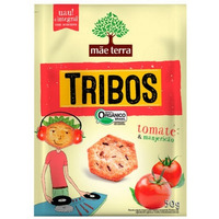 Salgadinho Org. Tribos Sabor Tomate Manjericao 50g Mae Terra