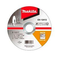 "Disco Abrasivo de Corte para Inox 115 x 1.0 x 22.3 mm (4.1/2"") - B-12217-10 - Makita<BR>"
