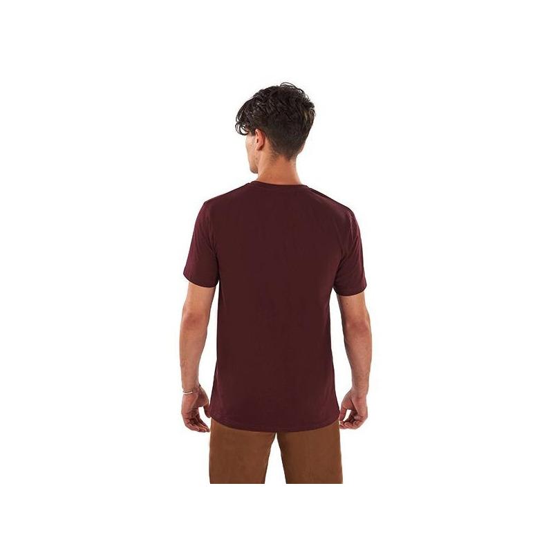 Camisa vino estampada 014626