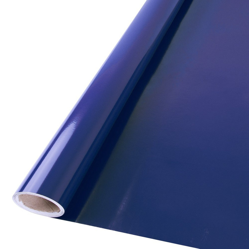 Vinil adesivo Goldmax azul noturno larg. 0,61 m