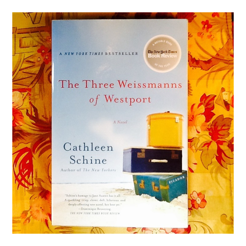 Cathleen Schine.  THE THREE WEISMANNS OF WESTPORT.