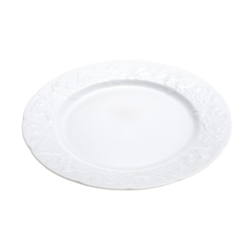 Jogo 6 Pratos Rasos em Porcelana 26Cm Vendange - Limoges by Wolff 31017027