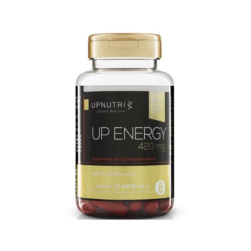 Up Energy (Cafeina) - 30 capsulas de 420mg - Upnutri