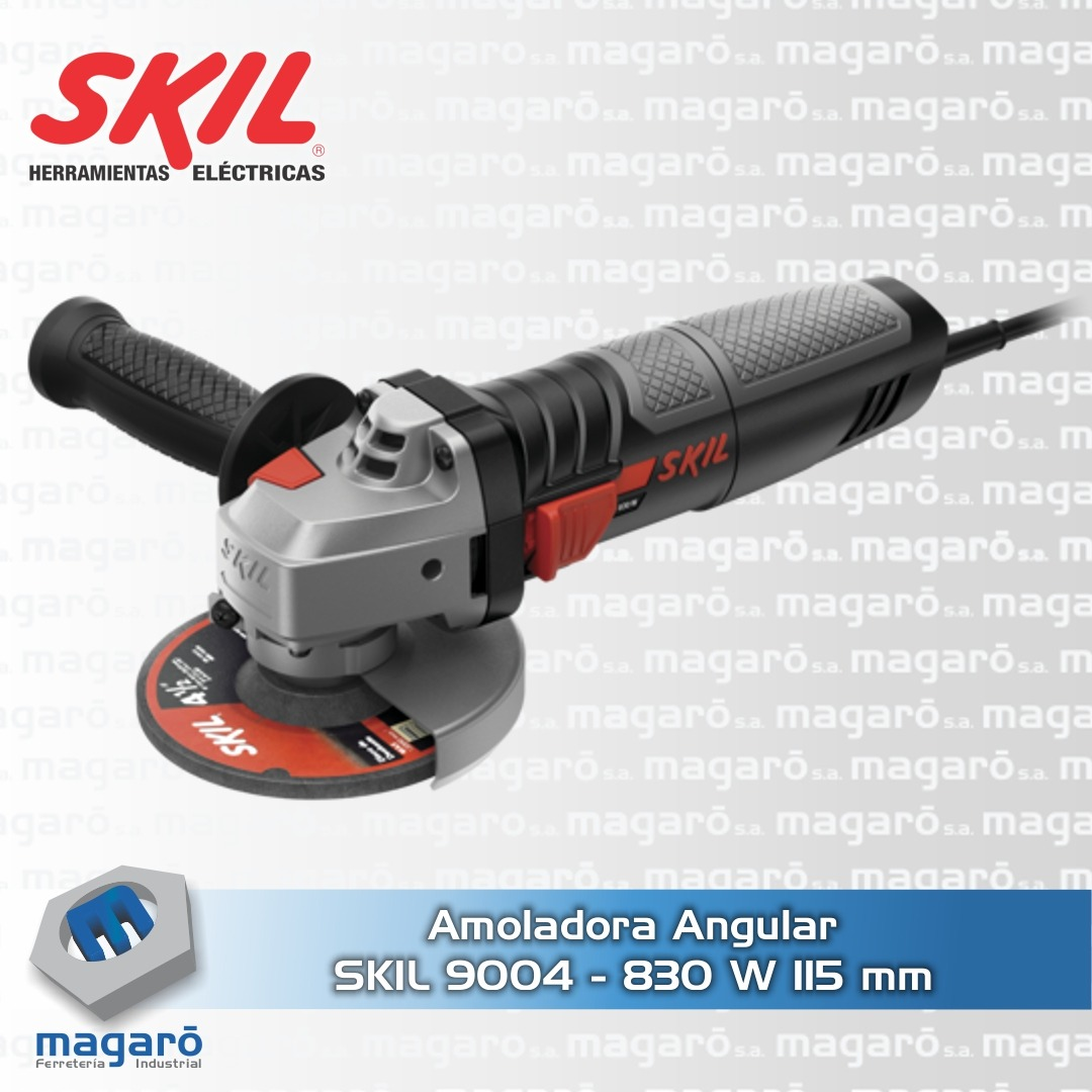 Amoladora Angular  Skil 9004 830 Watt 115mm 4 1/2
