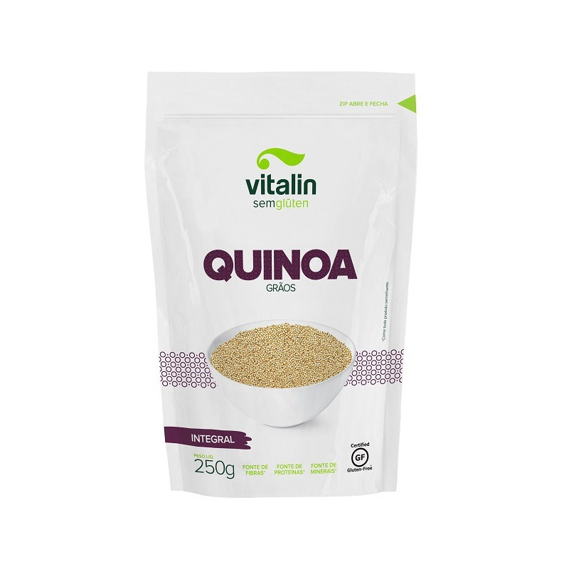 Quinoa em Graos em Integral - 250g - Vitalin