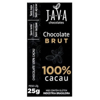 Chocolate Brut 100% Cacau - 25g - Java