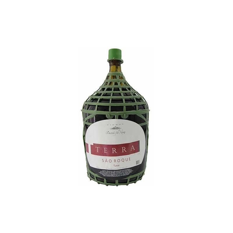 Vinho Terra São Roque Tinto Suave Izabel/Bordô 4,5 L - Real D'Ouro
