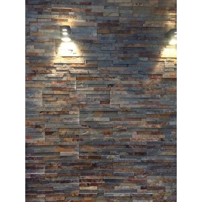 novedoso de piedra natural prearmado en placas pegadas sobre malla son ideales para revestir paredes interiores y exteriores with piedra para revestir