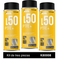 Bizol Aerosol PTFE Teflon Kit 3p de 400 ml