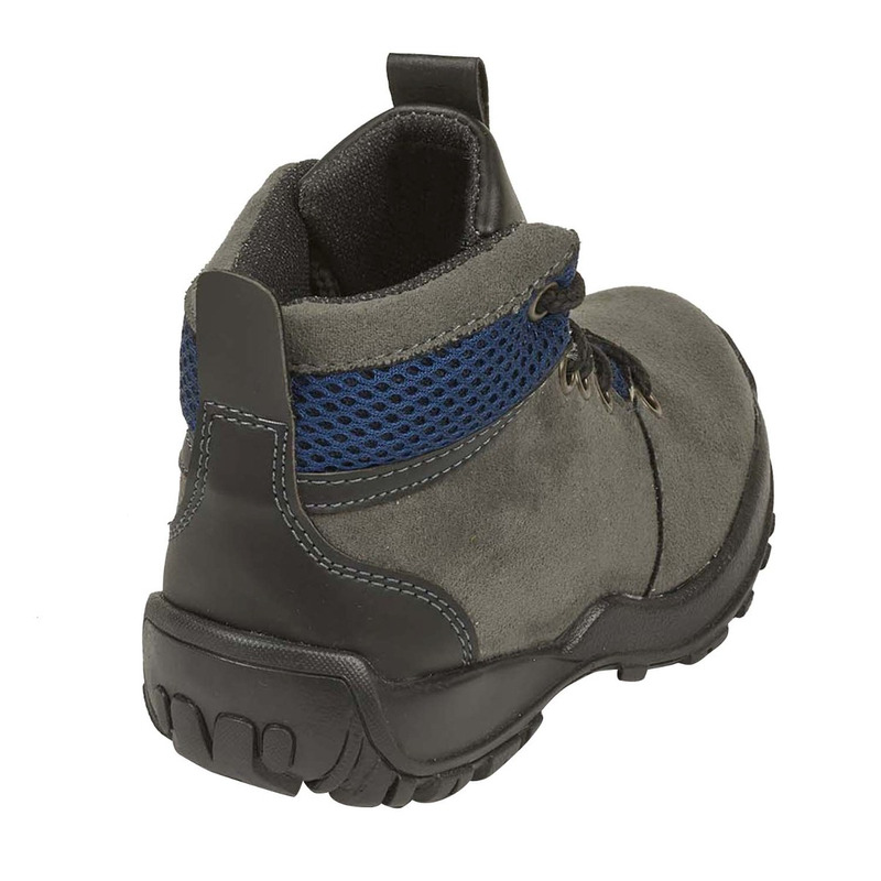 Bota gris textura azul 018807