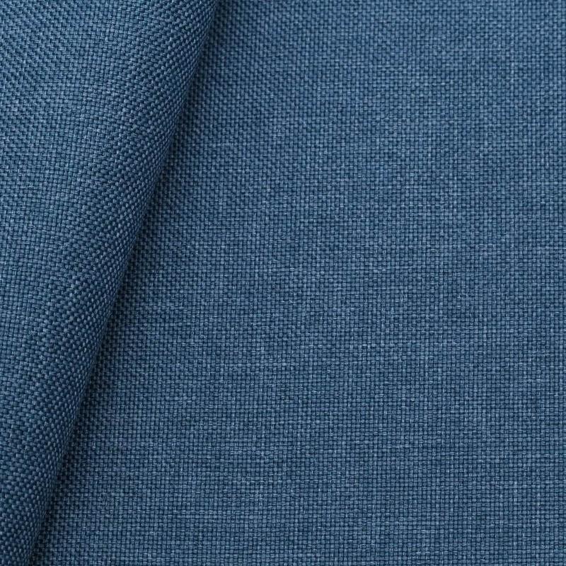 Tecido linho sintético azul bondi (50) Coleção New York IV