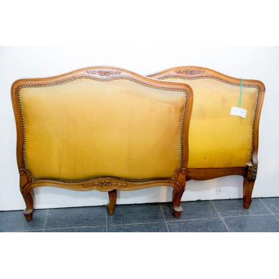 Antiguo divan chaise longue frances impecable estado for Divan frances