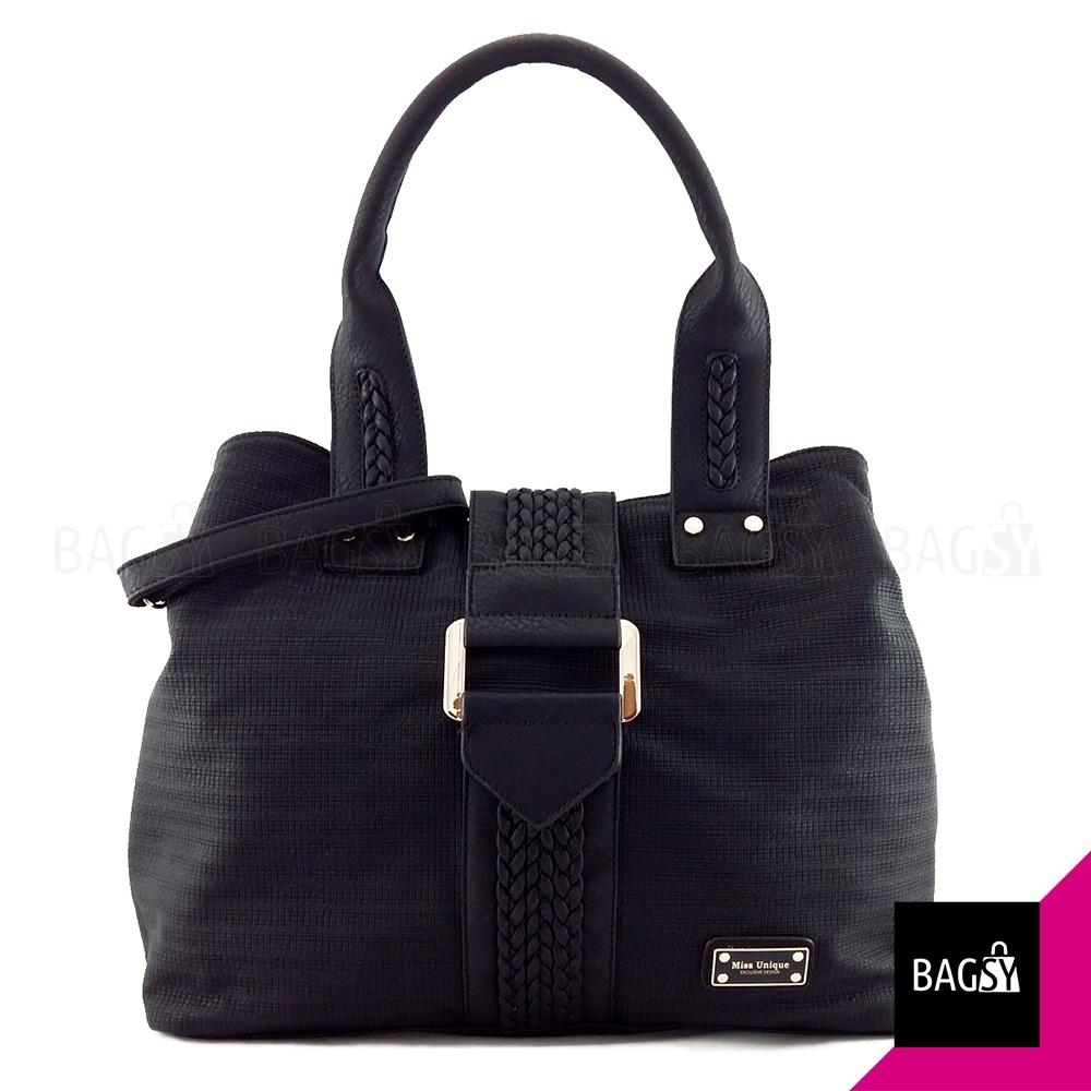 eae693e0b Maxi Cartera Bolso Importada Negra Grande Extensible . Bagsy | BAGSY ...