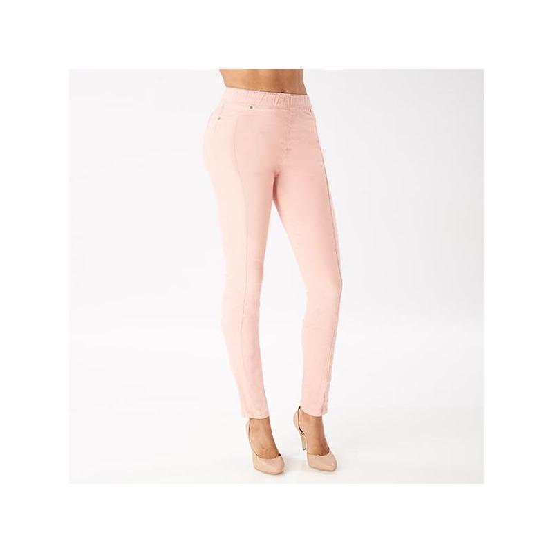 Pantalón rosa con resorte 015611