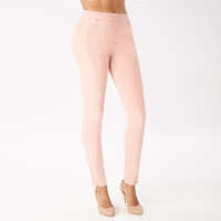 Pantalón rosa con resorte 015611