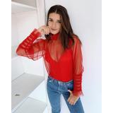 Camisa Julieta Roja