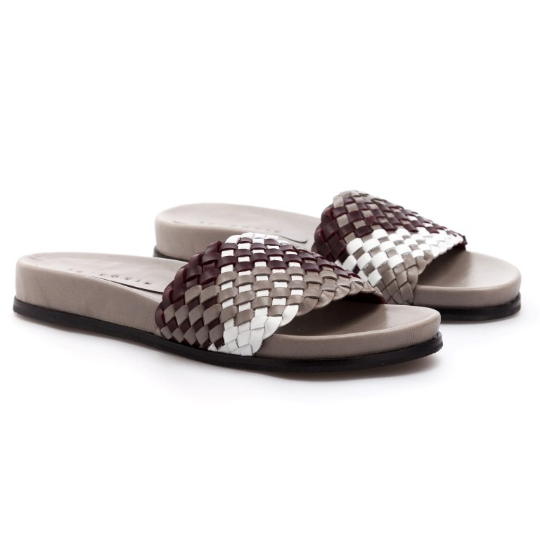 Slide Sophie Gris/ SALE 50% OFF