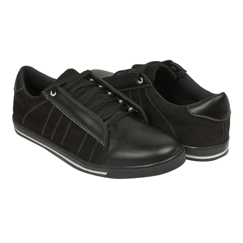 Sneakers negros textura 018819