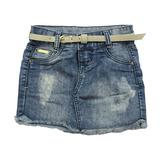 Saia Jeans c/ Barra Desfiada Crawling