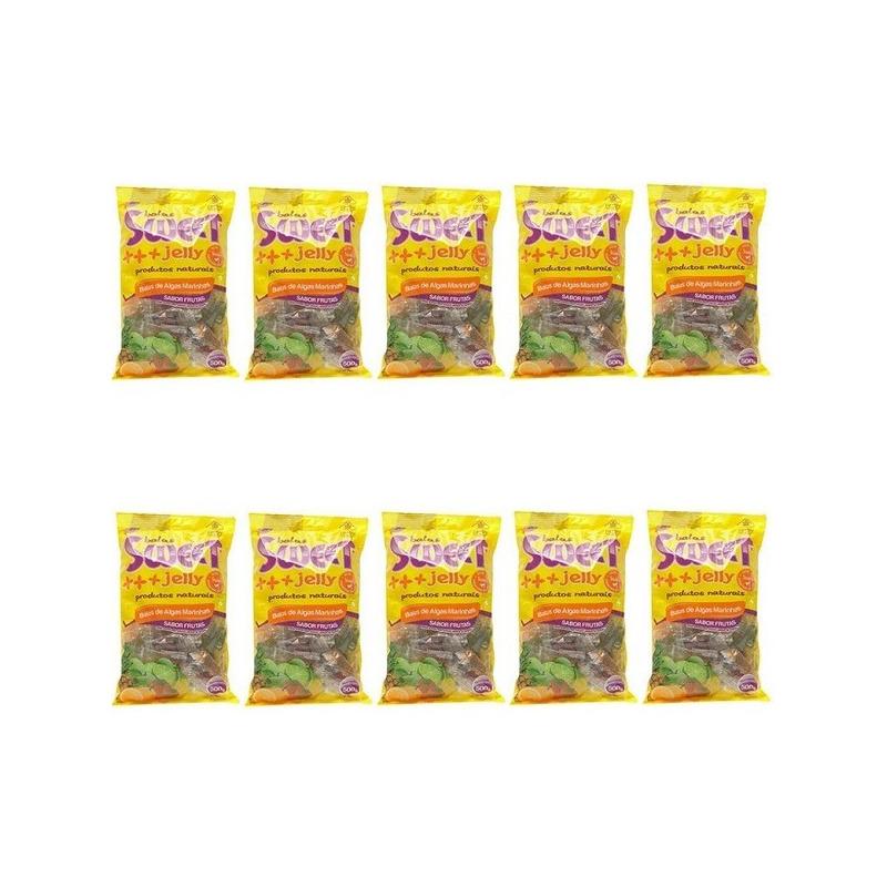 Balas de Algas (Sortidas) Kit 10 x 500g Sweet Jelly