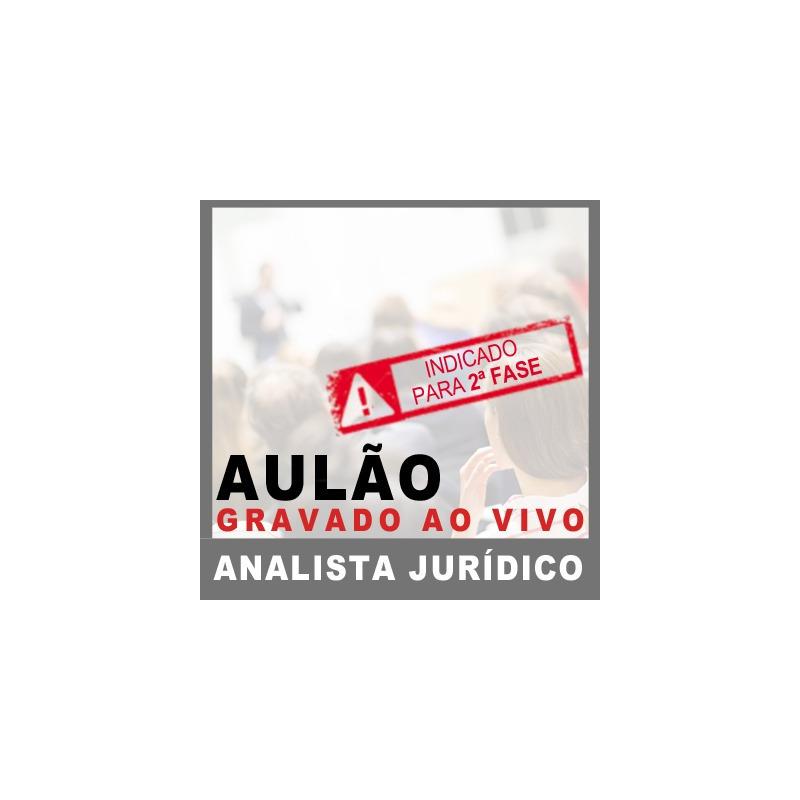 Aulão MP SP Analista Jurídico 2018 - Direito Processual Civil I