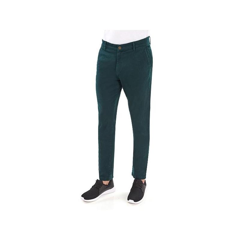 Pantalón verde botella 014567