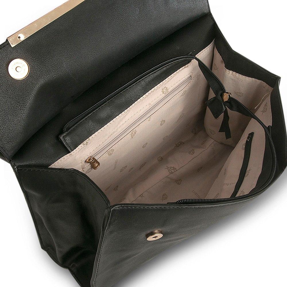 46ebf249b Bolsa Tote Bag Whisper Alice Palucci AL6803 Preta   boaloja