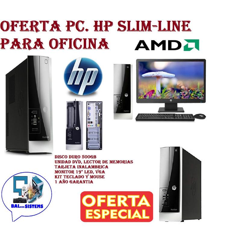 PC HP SLIM-LINE 400 E1 2500