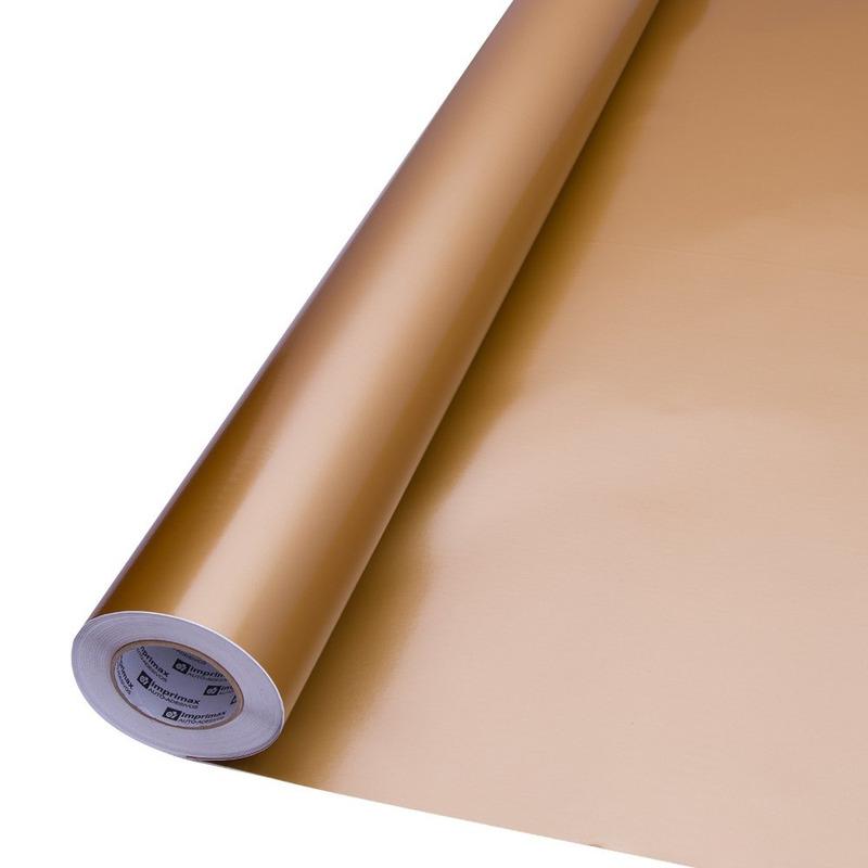 Vinil adesivo Goldmax ouro larg. 0,61 m