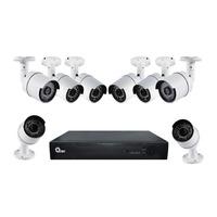 Equipo de Videovigilancia de 8 Cámaras y 8 Canales QKC8D81701