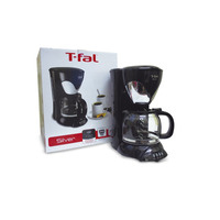 Cafetera T-Fal 10-12 Tazas Silver  1190639