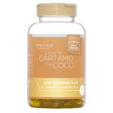 Oleo de Cartamo com Coco - 120 Capsulas de 1000mg - UpNutri