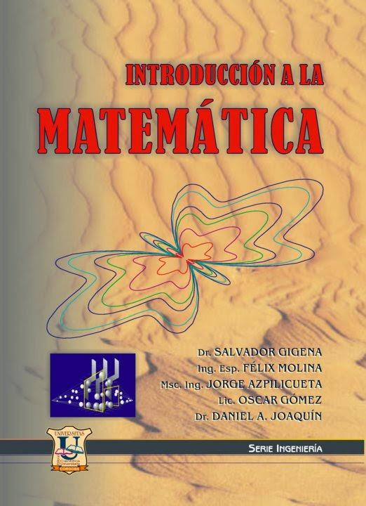 Introduccion a la matematica. Gigena, Molina, Azpilicueta...